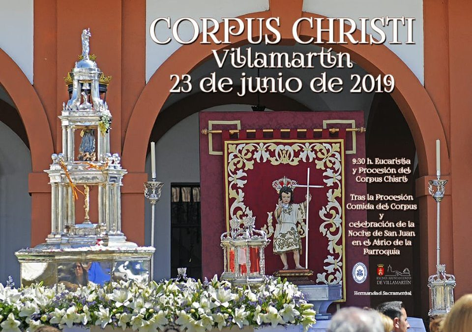 Nuestra tradicional cita con el Corpus Christi
