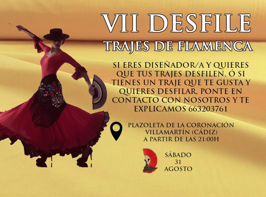 La VII edición del Desfile de Trajes de Flamenca ya tiene fecha