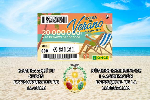 La Agrupación venderá el 68121 del Cupón Extraordinario de verano